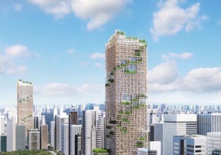 Project by Sumitomo Forestry Smart city