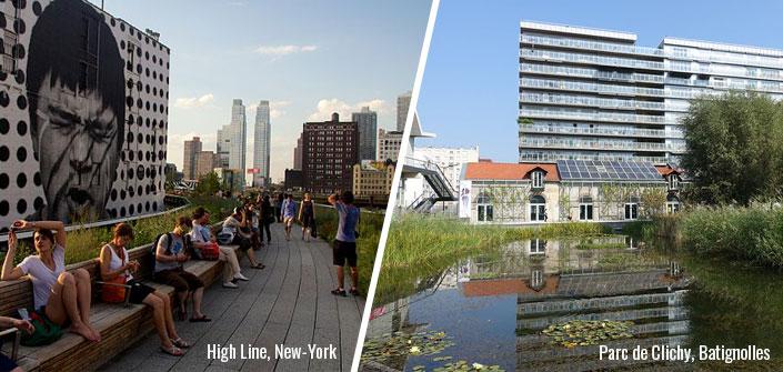 des exemples de gentrification verte