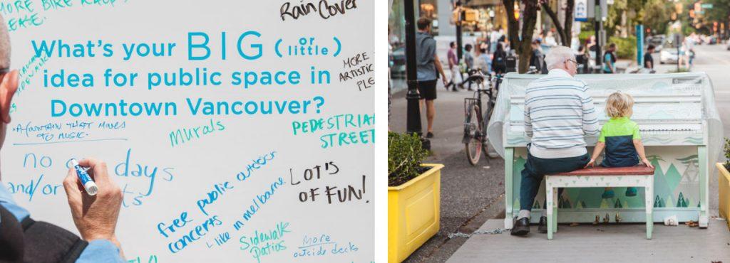 Votre avis sur les espaces publics