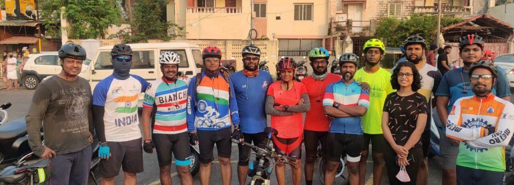 Cyclistes de Ramallah
